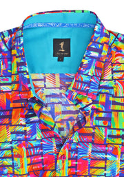 1 Like No Other Gaoth Half Sleeve Print Shirt