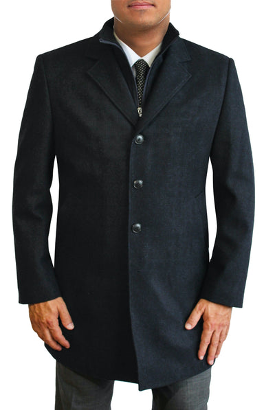Sutton Navy Coat by Daniel Hechter