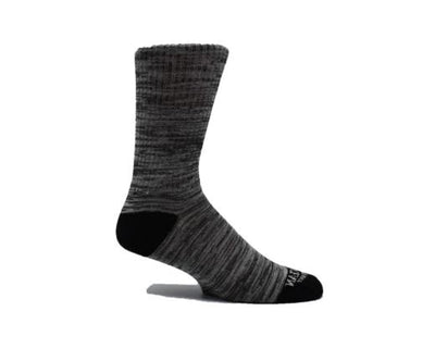 Save the Ocean Recycled 3 pack Athletic Socks-2 Grey Heather and 1 Navy Heather