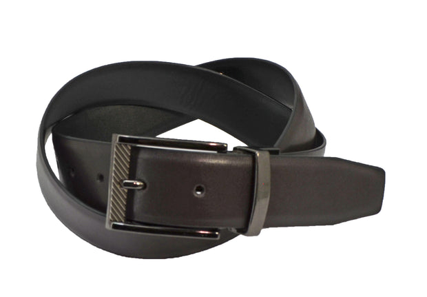 English Laundry Reversible Vegab Leather Belt