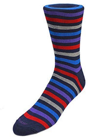 Duchamp London Striped Socks