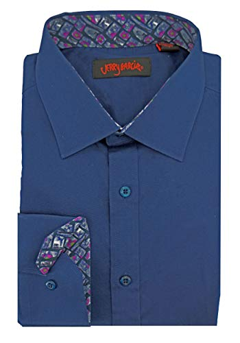 Jerry Garcia Printed Cuffs Dress Shirt