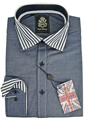 English Laundry Sport Shirt Blue