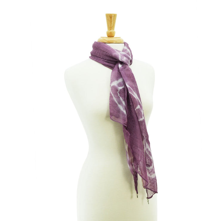 Skye Embellished Sheer Scarf