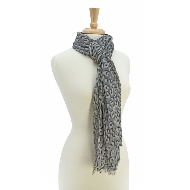Abella Animal Print Scarf