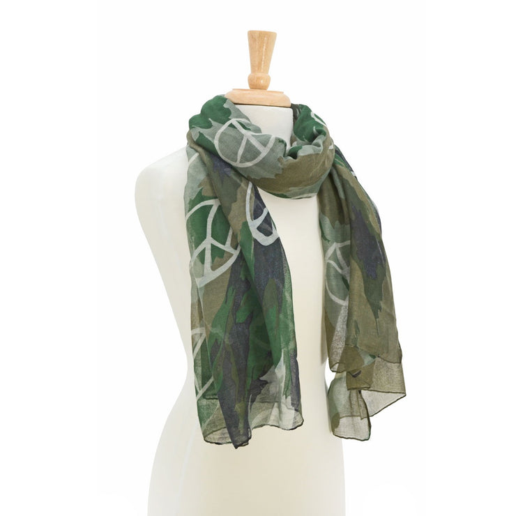 Angel Peace Print Scarf