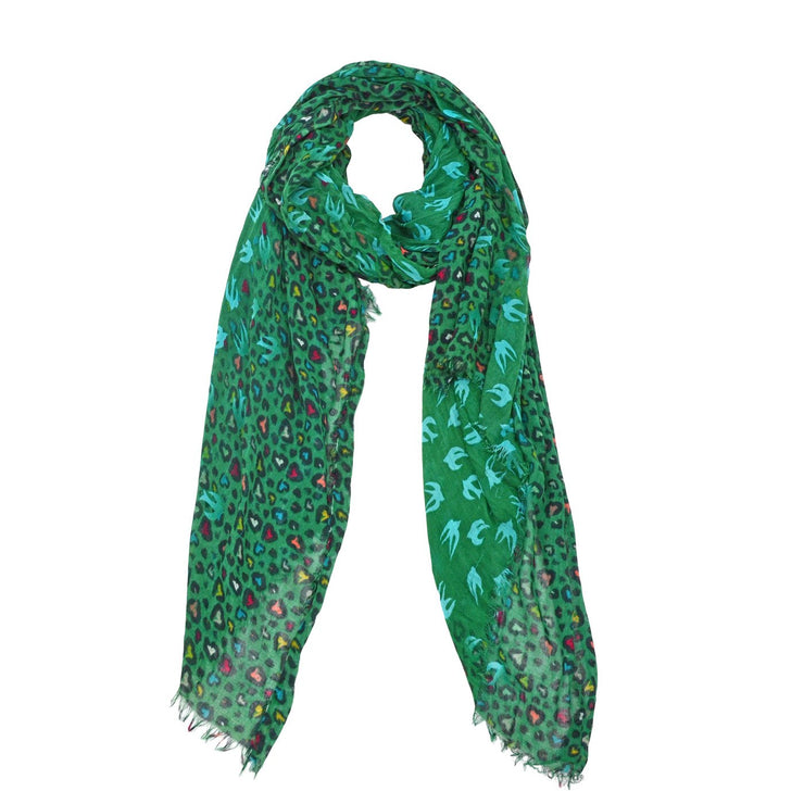 Audrey Animal Motif Scarf