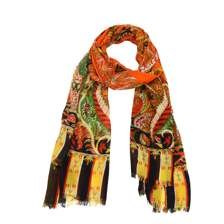 Vivian Abstract Print Scarf