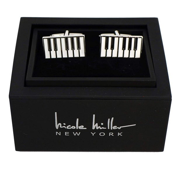 Nicole Miller Studio Piano Cuff Links