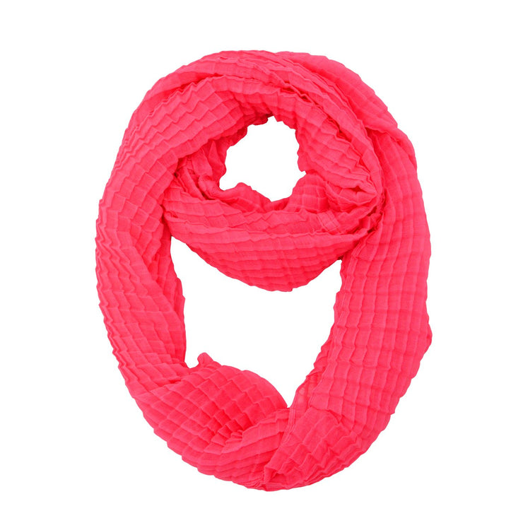 Adelle Solid Infinity Scarf