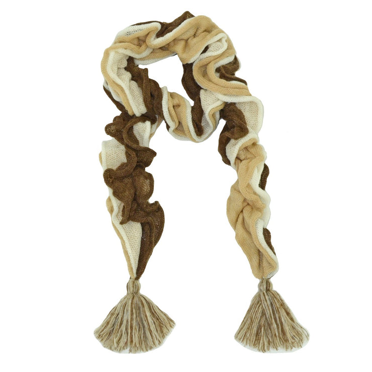 Roffe Accessories Women's Ingrid Multi Crocheted Scarf
