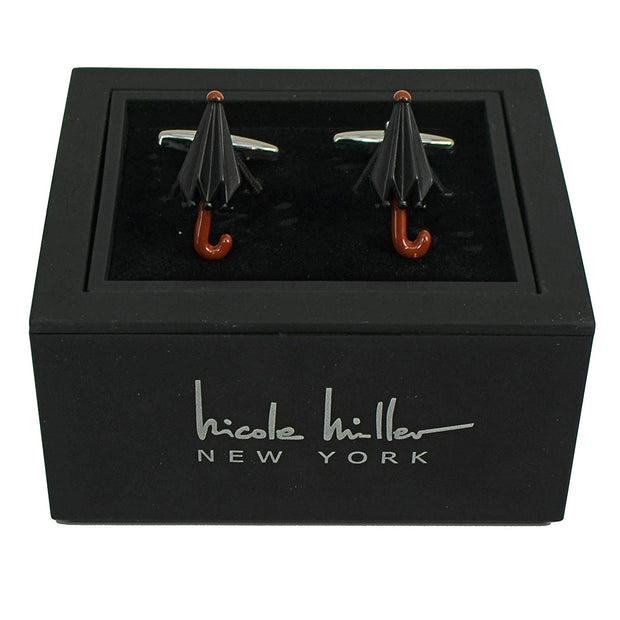 Nicole Miller Studio Umbrella Cuff Links