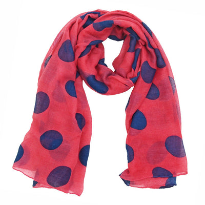 Portia Polka Dot Party Scarf