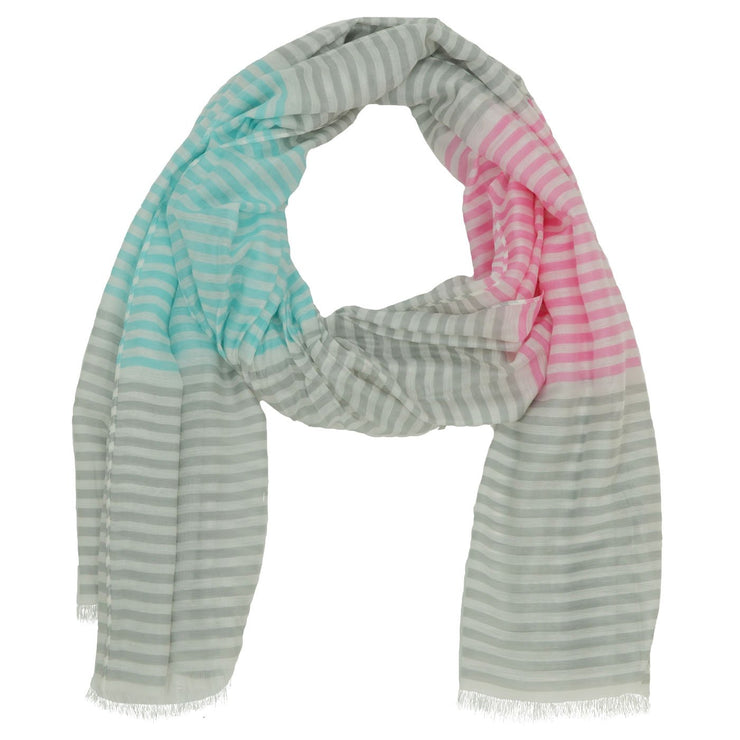 Jennifer Stripe Scarf