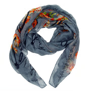 Lacey Romantic Print Scarf