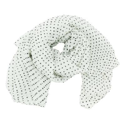 Roffe Accessories Women's Harper Polka Dot Scarf