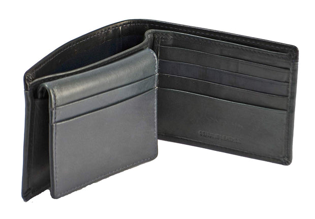 Duchamp London Men's Passcase Bifold Genuine Leather Wallet