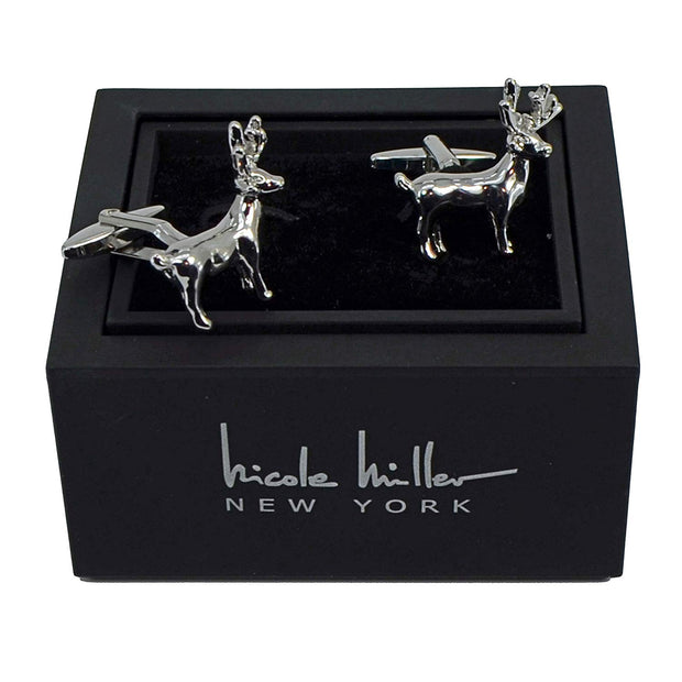 Nicole Miller Studio Deer Cuff Links