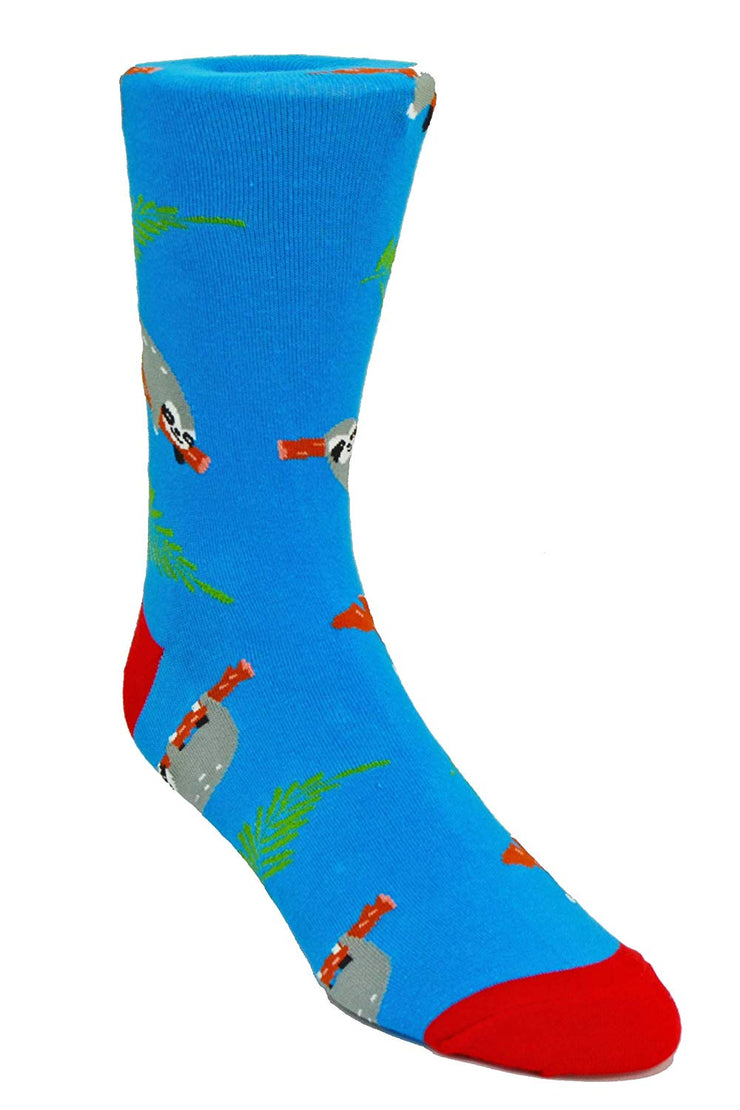 Nicole Miller Studio Sloth Socks