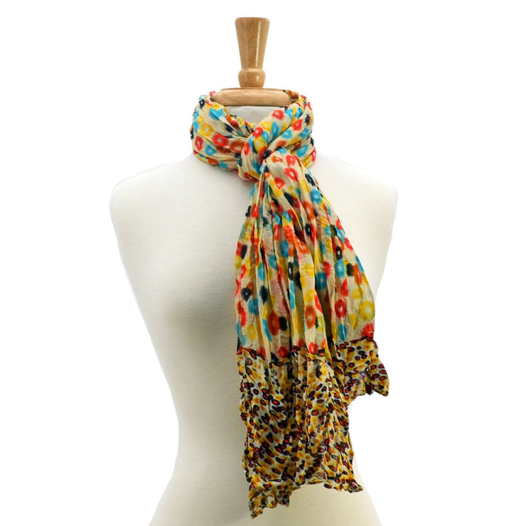 Colette Color Splash Scarf