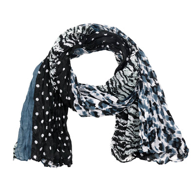 Kylie Polka Dot Animal Scarf