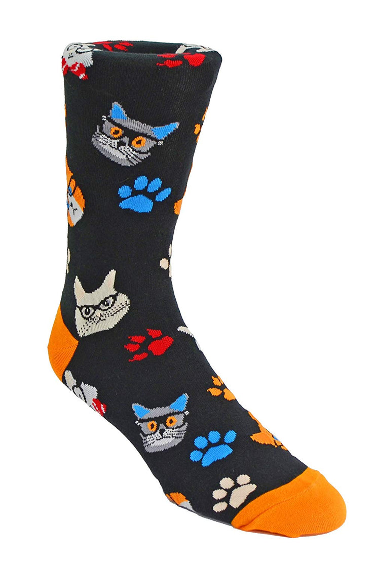 Nicole Miller Studio Cats and Dogs Socks