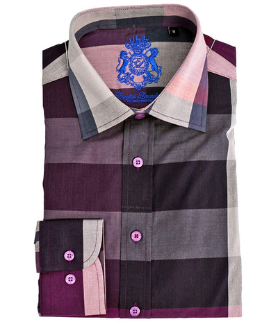 English Laundry Plaid Sport Shirt