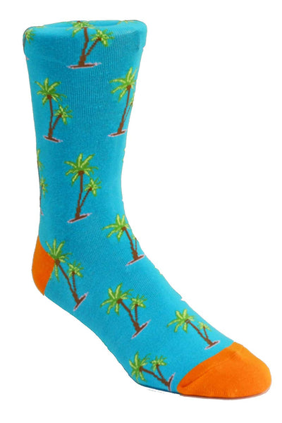 Nicole Miller Studio Palm Tree Socks