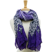 Radha Animal Print Scarf