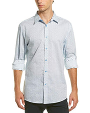 English Laundry Casual Button Down Print Shirt
