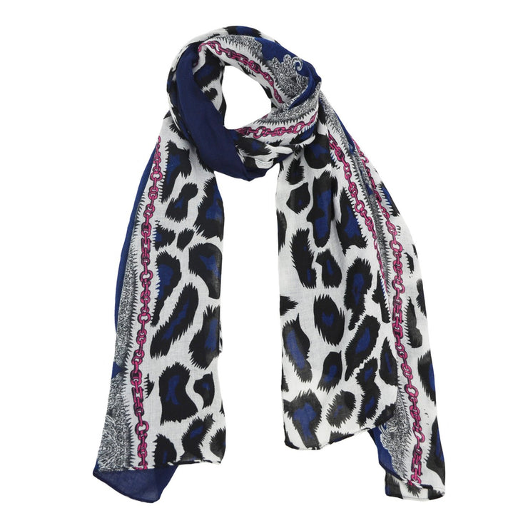 Vonda Wild Animal Multi Scarf