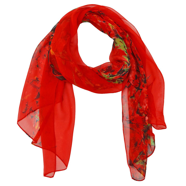 Cadence Silk Sheer Scarf