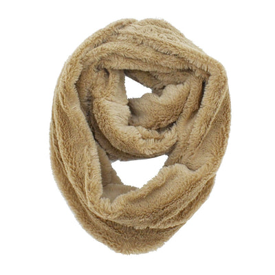 Erin Solid Plush Infinity Scarf