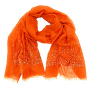 Joleen Embellished Scarf with Trim