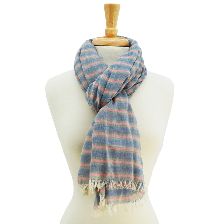 Quinn Striped Scarf