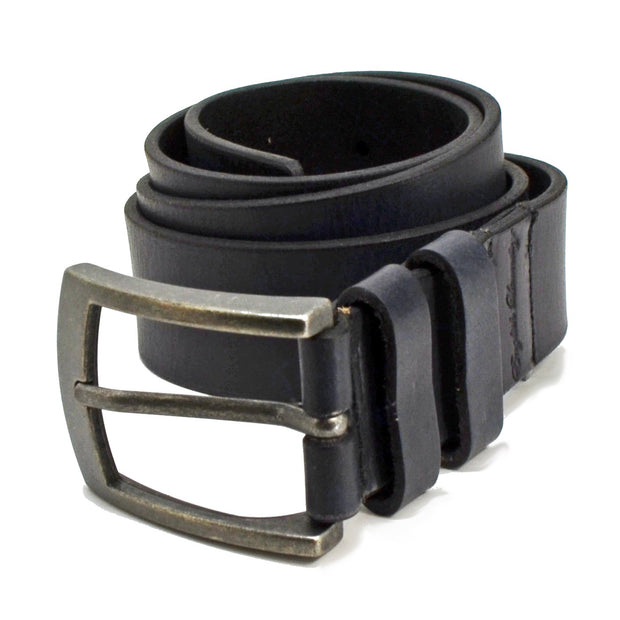 English Laundry Mens Leather Jean Belt