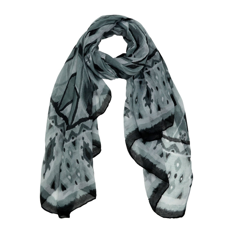 Lauren Abstract Print Scarf