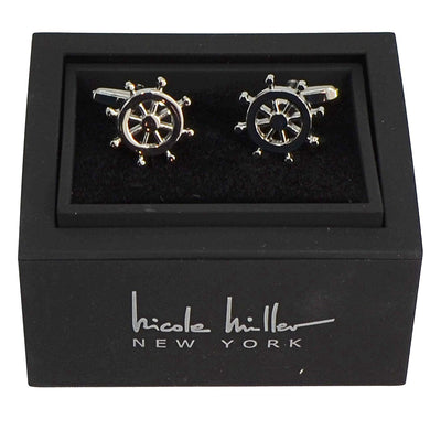 Nicole Miller Studio Nautical Cuff Links
