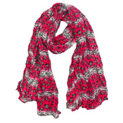 Kiki Exotic Animal Print Scarf