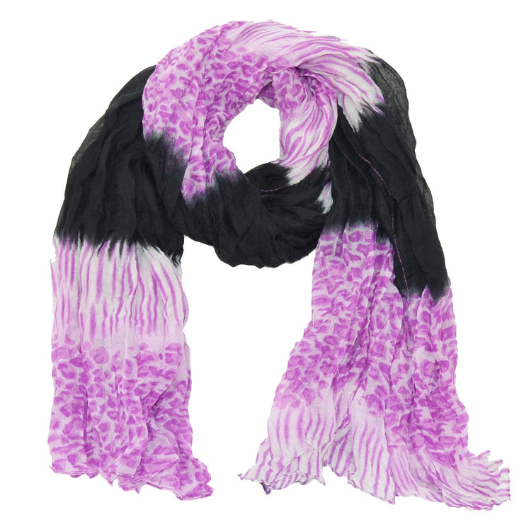 Paloma Animal Print Scarf