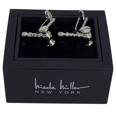Nicole Miller Studio Gavel Cuff Links