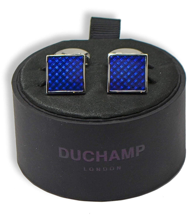 Duchamp London Purple Cuff Links