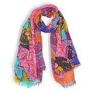 Samantha Safari Wonderland Scarf