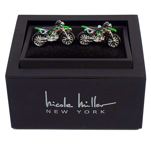 Nicole Miller Studio Motorycle Cuff Links