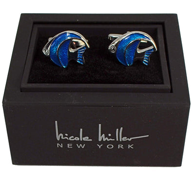 Nicole Miller Studio Fish Cuff Links