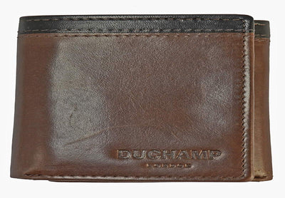 Duchamp London Two-Toned Leather Wallet