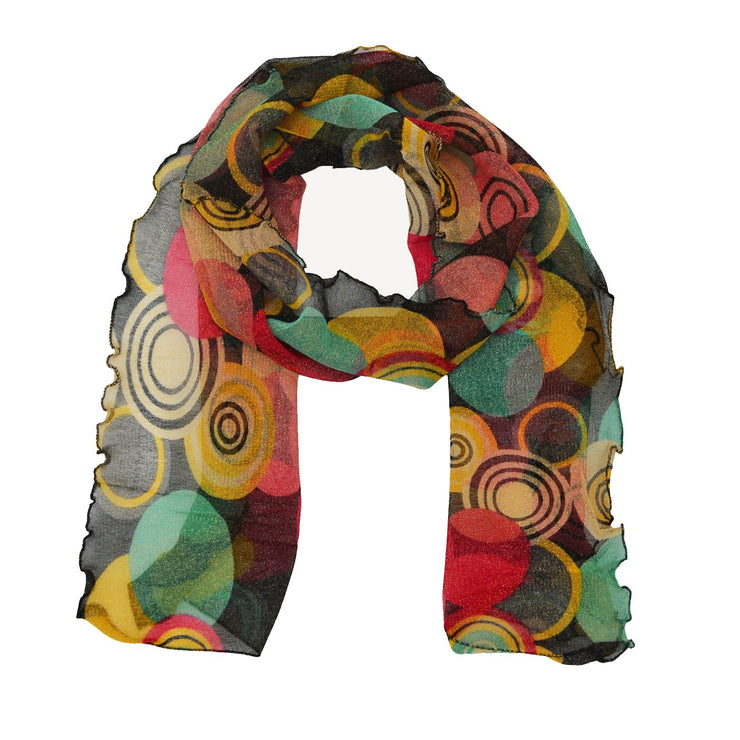 Darcy Abstract Print Scarf