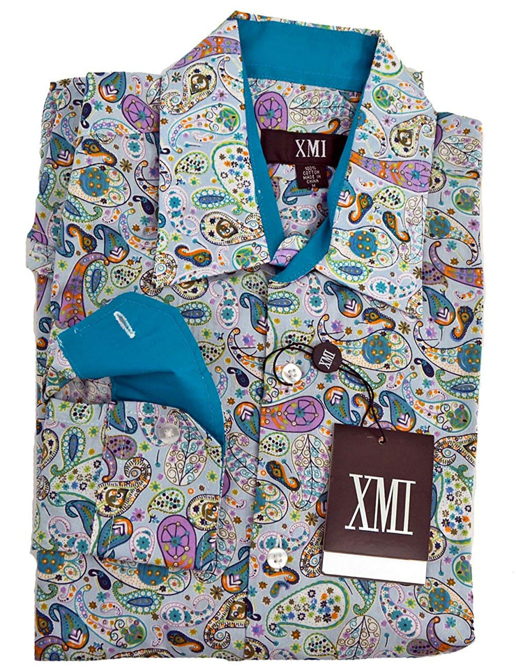 XMI Mens Long Sleeve Sport Shirt