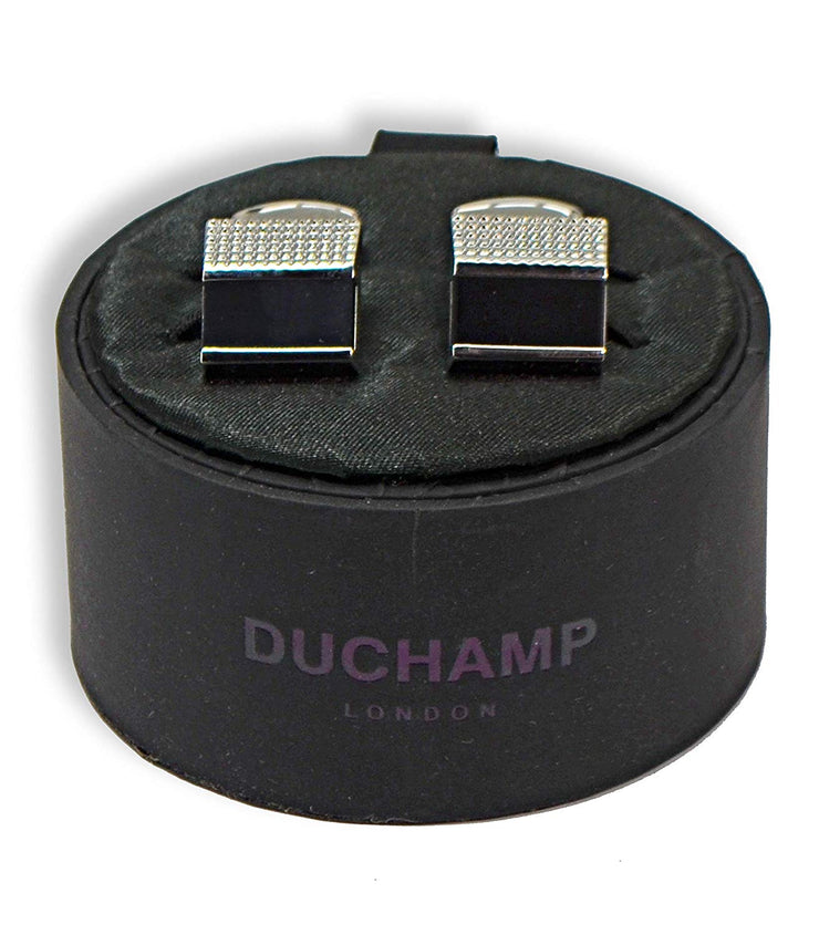 Duchamp London Black Stone Cuff Links