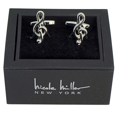 Nicole Miller Studio Music Cuff Links